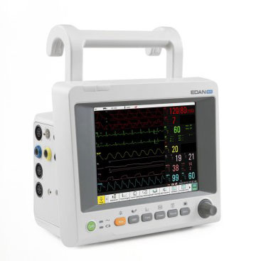 Edan iM50 is a Co2 Monitor, with a variety of physiological functions including ECG, Sp02 for endoscopy, ICU, Dental clinics.